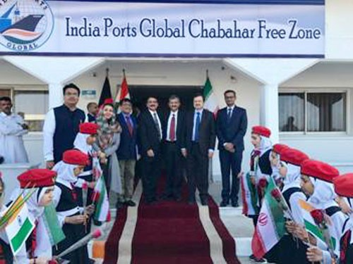 india ports global chabahar free zone office in iran