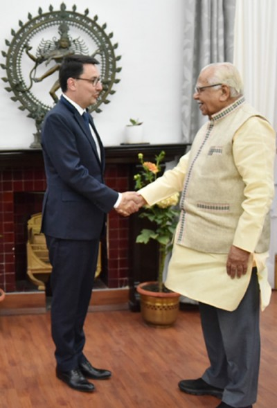 french ambassador meets ram naik