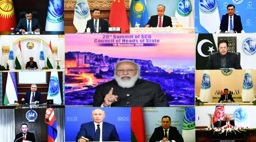 20th conference of shanghai cooperation organization council