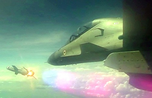 sukhoi-30 mki successful test of 'astra'