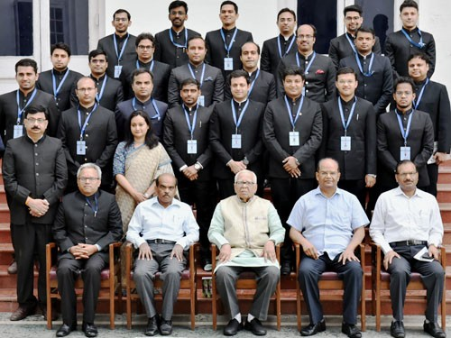 indian administrative and forest service trainees meet from ram naik