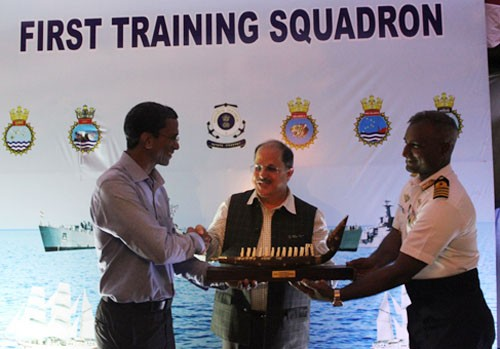 first indian training squadron on seychelles trip