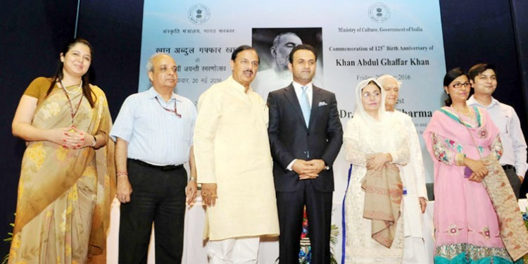 khan abdul gaffar khan's 125th birth anniversary in india
