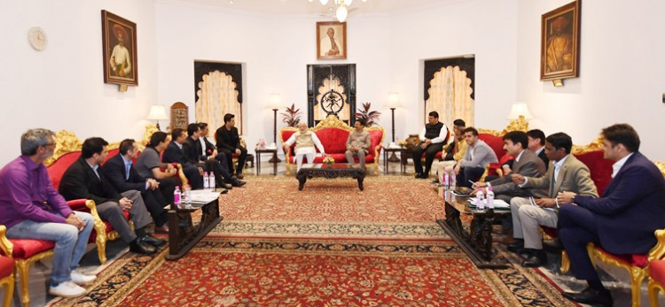 a delegation the film and entertainment industry, calling on the pm narendra modi