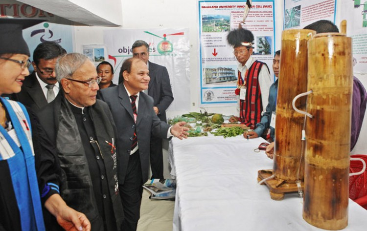 pranab mukherjee inaugurated the grassroots innovation exhibition