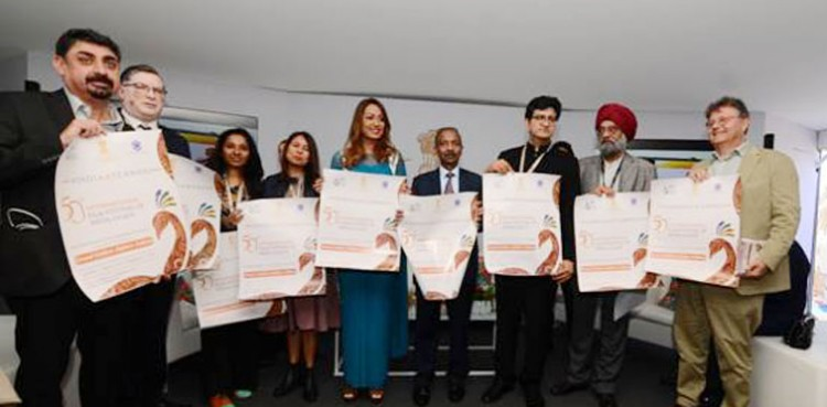 inauguration of india pavilion at cannes