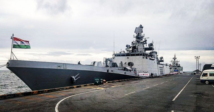 indian navy ships on cambodia voyage