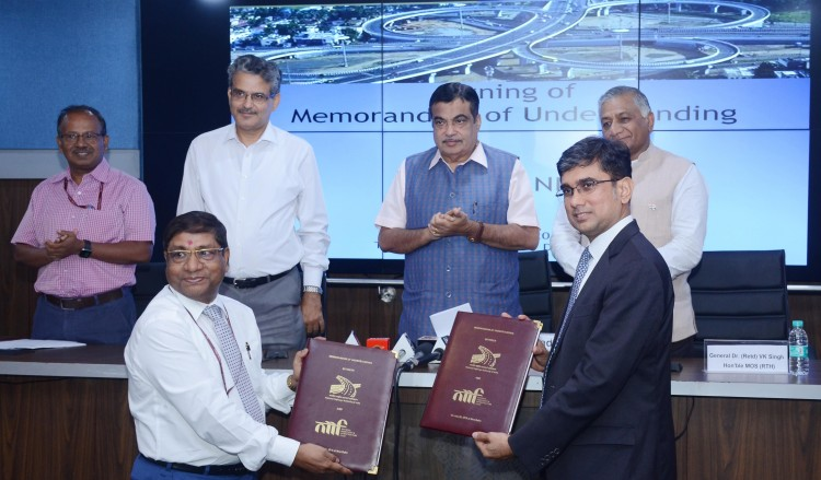 agreement between nhai and niif