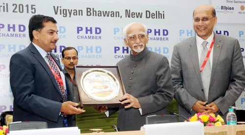 vice president mohammad hamid ansari conference on skilled india