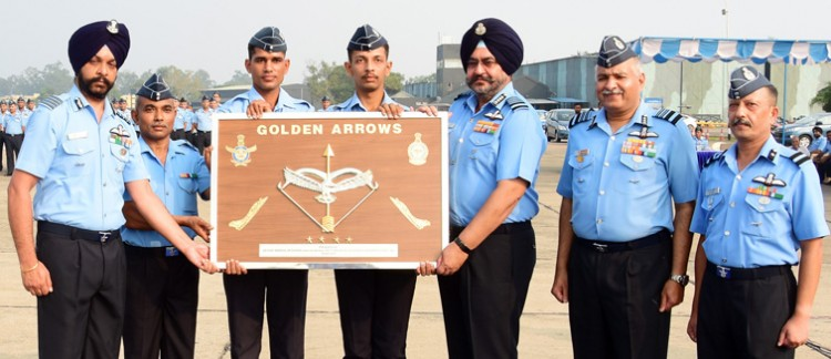 resurgence ceremony for squadron at air force station ambala