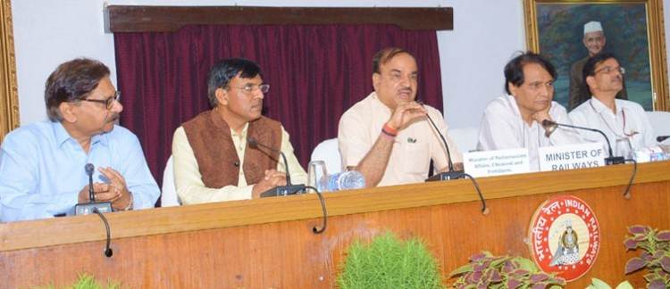 deep discussion with railway minister for opening public drug centers