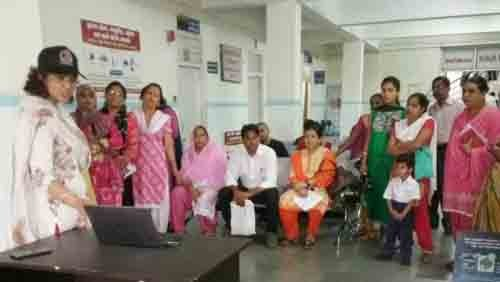free camp for breast cancer check in coronation hospital, dehradun