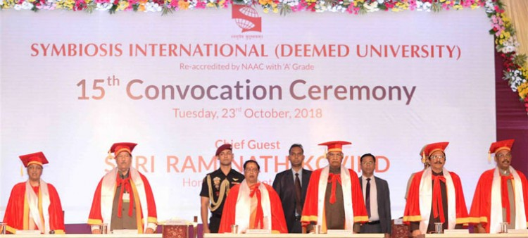 convocation of symbiosis international university in pune