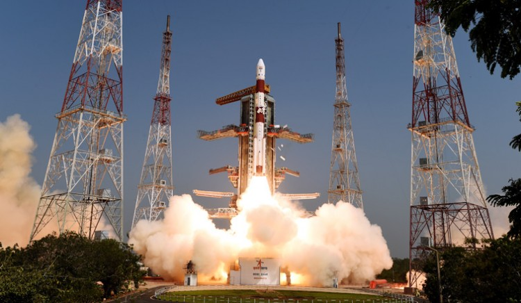 pslv-c45 successfully launched amisat and 28 satellites of other countries