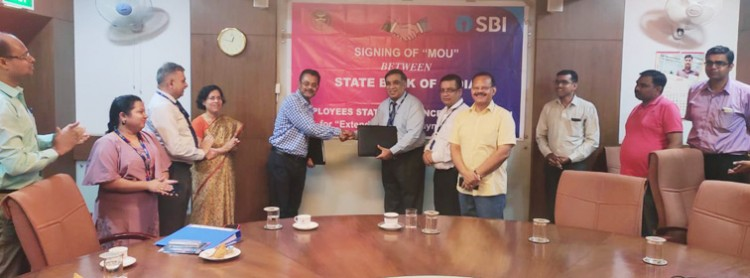 esic agreement with sbi