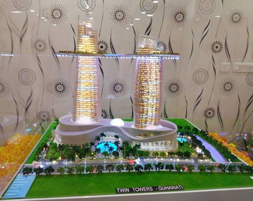 twin tower trade center to be built in guwahati