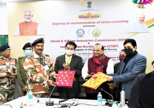 kvic signs agreement with itbp