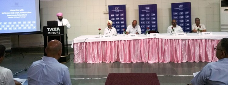 cii interaction labor program in dehradun