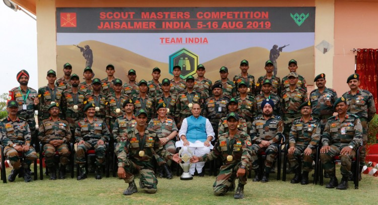 international army scouts masters competition-2019 concluded