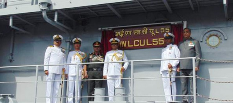 in lcu l-55 is included in navy