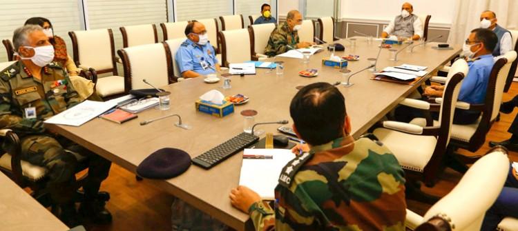defense minister rajnath singh praised the functioning of the medical service