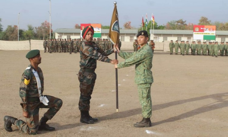 exercise bold kurukshetra-2019 held at babina military station