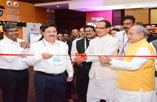 minister inaugurated pavilion of nalco in indore