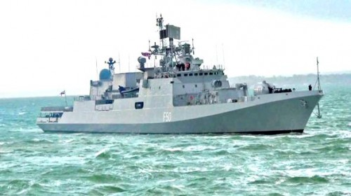 ins quiver reached nigerian port