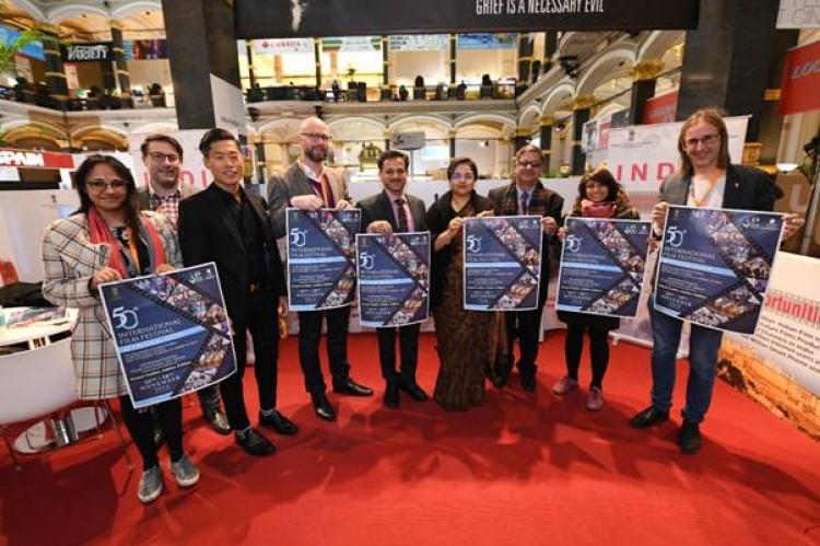inauguration of iffi 2019 poster at berlin international film festival