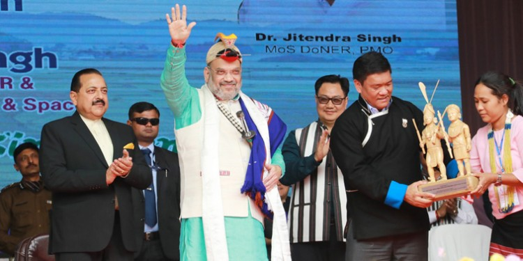 amit shah presides over the 34th statehood day celebrations of arunachal pradesh