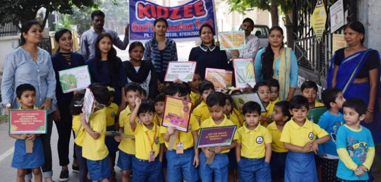 kidji school, call against fireworks