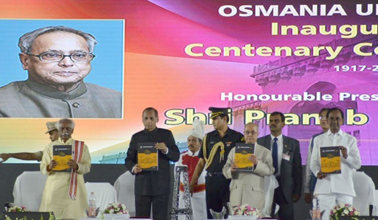 centenary celebrations of osmania university, hyderabad