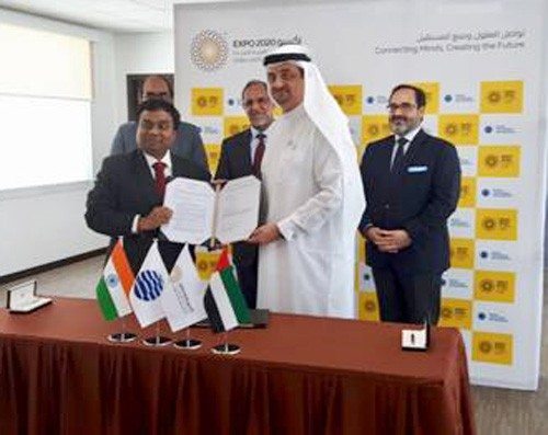 india and world expo partnership agreement signing