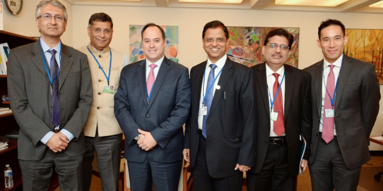 s.c. garg during spring meetings of the international monetary fund