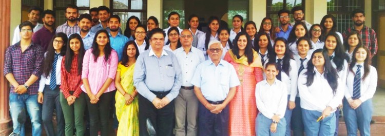 doon university, prof. narendra kumar, communication with the students