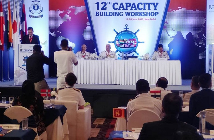 workshop of indian coast guard and recaap