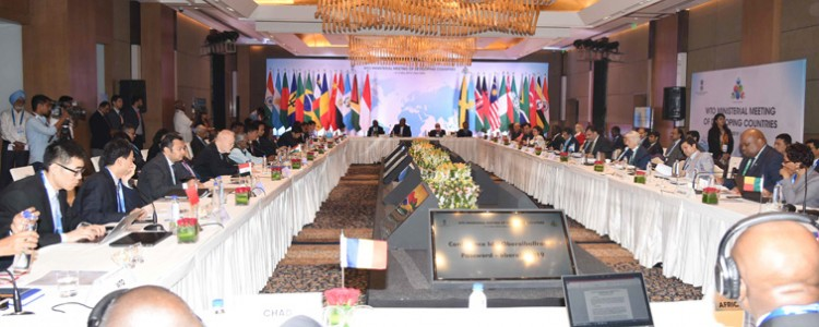 wto senior executive meeting of developing countries in new delhi