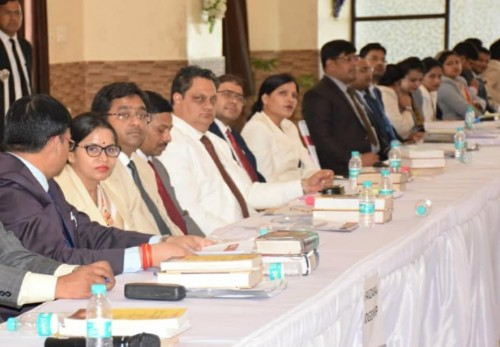 training and workshops of judges in ayodhya