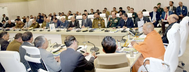 chief minister and defense minister hold review meeting