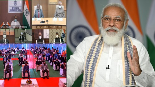 prime minister said that india moved towards transparency in taxes