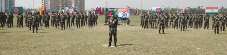 india-bangladesh joint military practice sampreeti