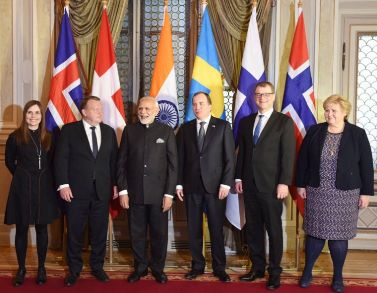 summit of indian and swedish prime ministers