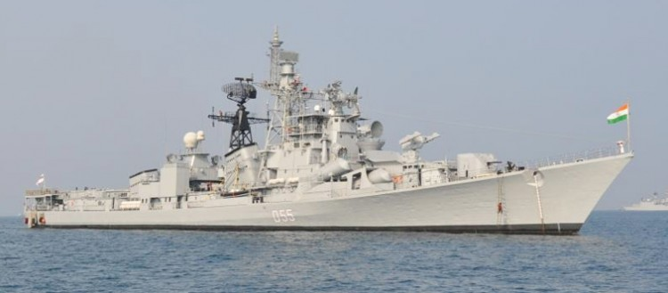 indo-russian naval exercise in the bay of bengal