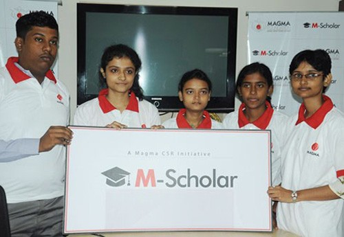 magma's scholarship program for meritorious students