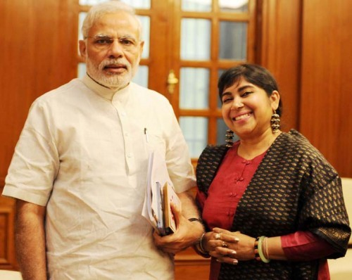 pm narendra modi and dr soma ghosh