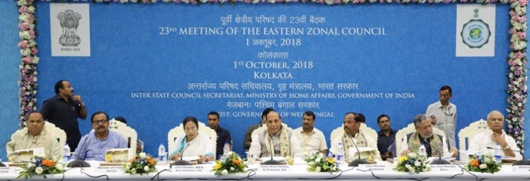 meeting of the eastern zonal council, in kolkata