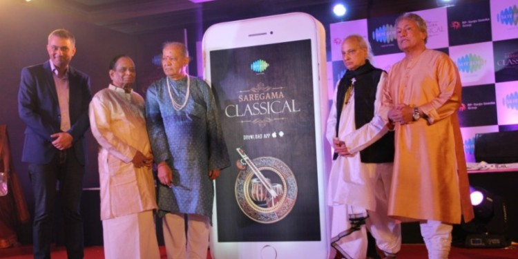 saregama, classical app launch