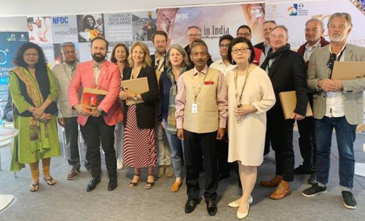 ib secretary met with film commissioners at cannes