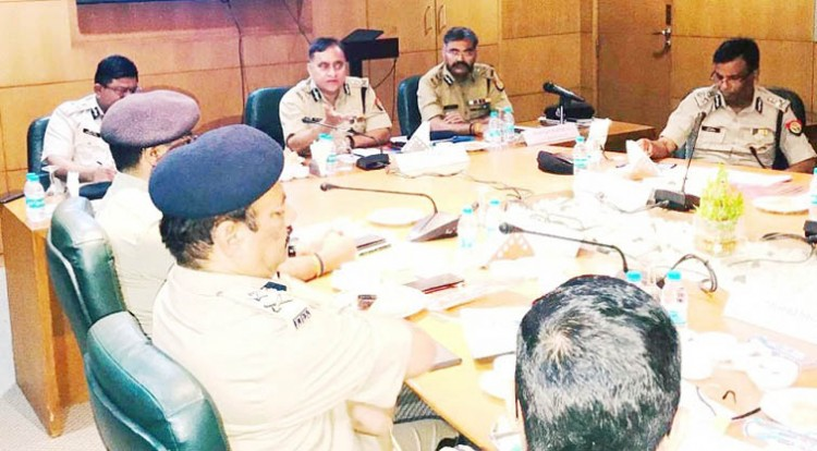 coordination meeting with dgp up border states