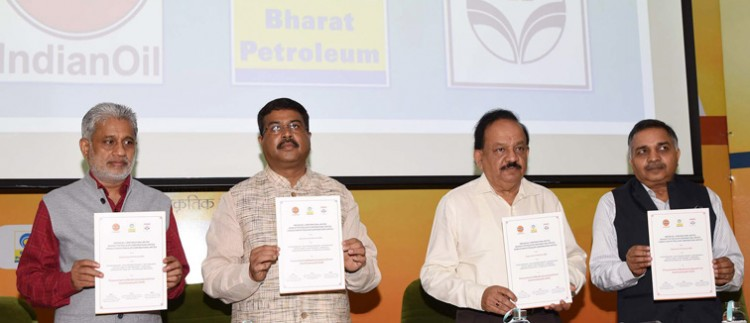 releasing the publication at the inauguration of the